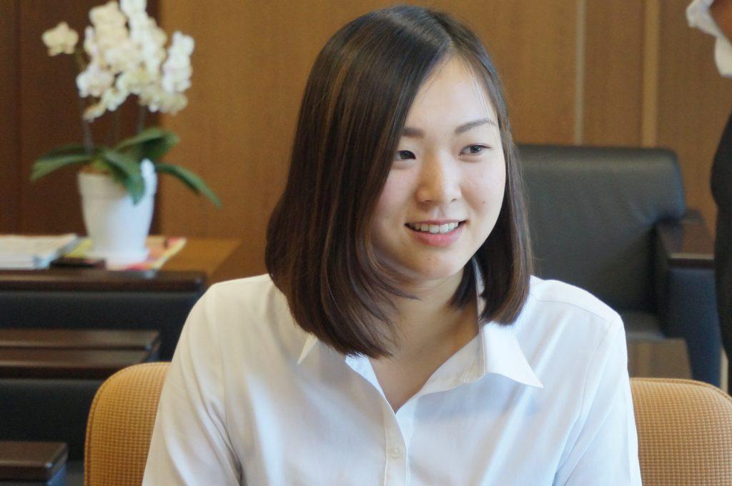 「環境の大切さを伝えたい」伊庭町の小西さんがJICAボランティアとして海外赴任へ。
