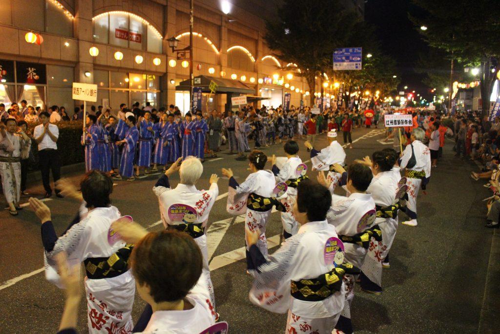 聖徳まつりといえば、江州音頭の総踊りです!